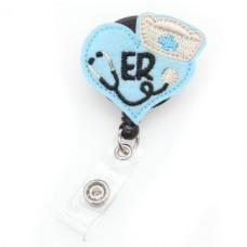 Nurse Badge Reel